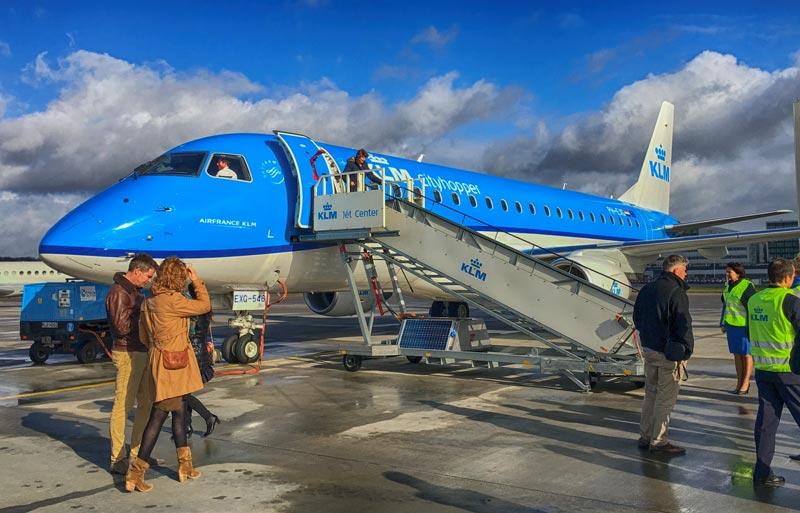 Embraer e KLM
