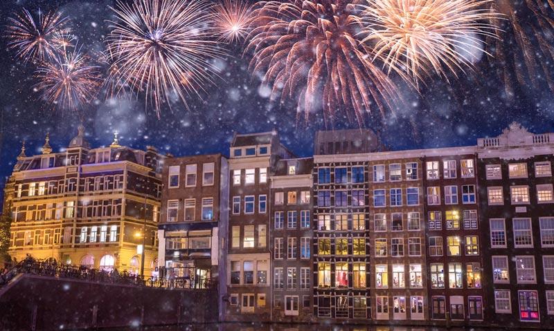 Festas em Amsterdam