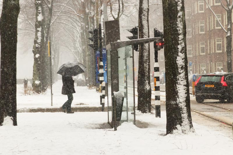 Neve em Amsterdam