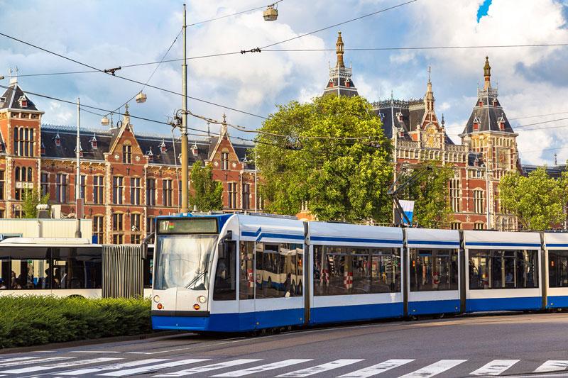 Transporte público em Amsterdam está incluso no I Amsterdam card