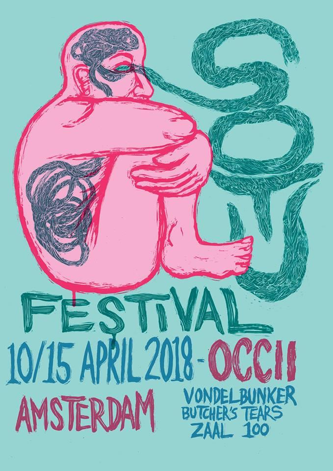 Festival de música alternativa em Amsterdam