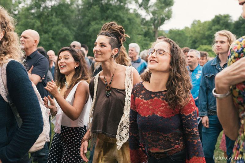 Festival de verão em Amsterdam