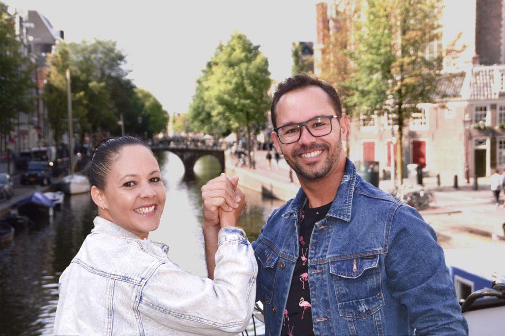 Guia brasileiro em Amsterdam
