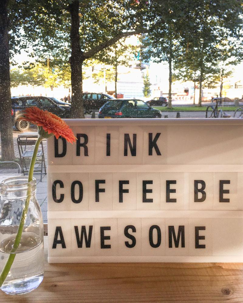 Dica de onde tomar café em Amsterdam