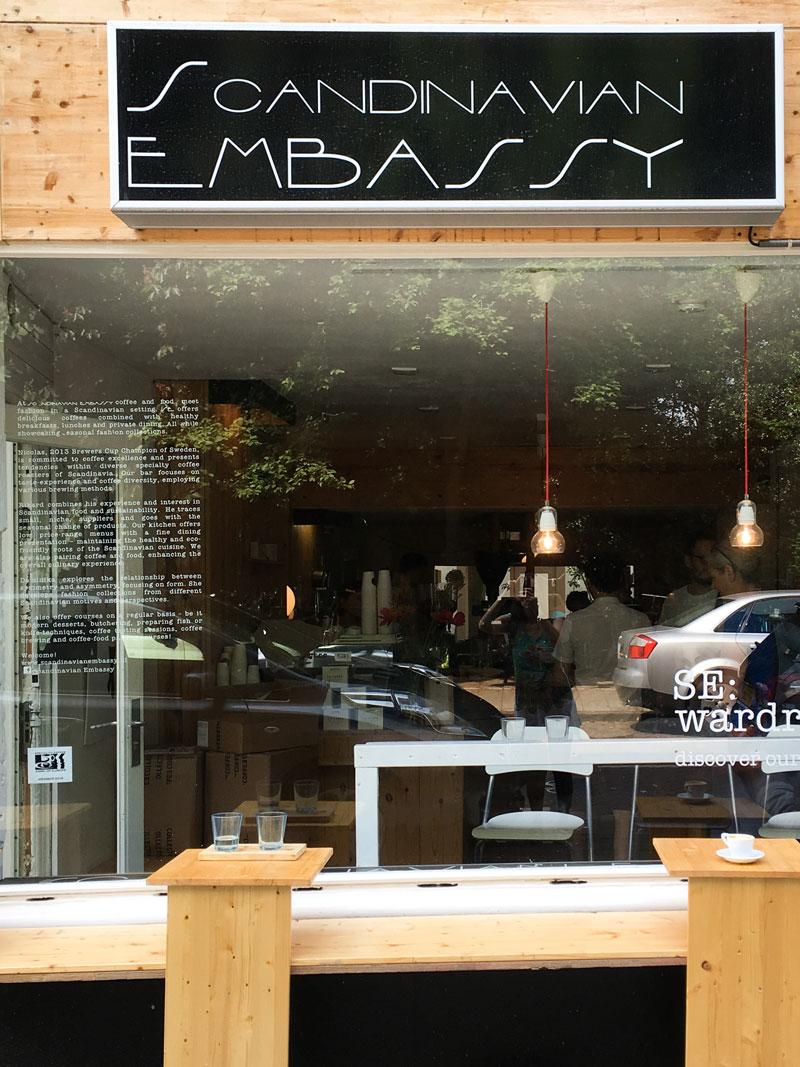 Café e comida em Amsterdam