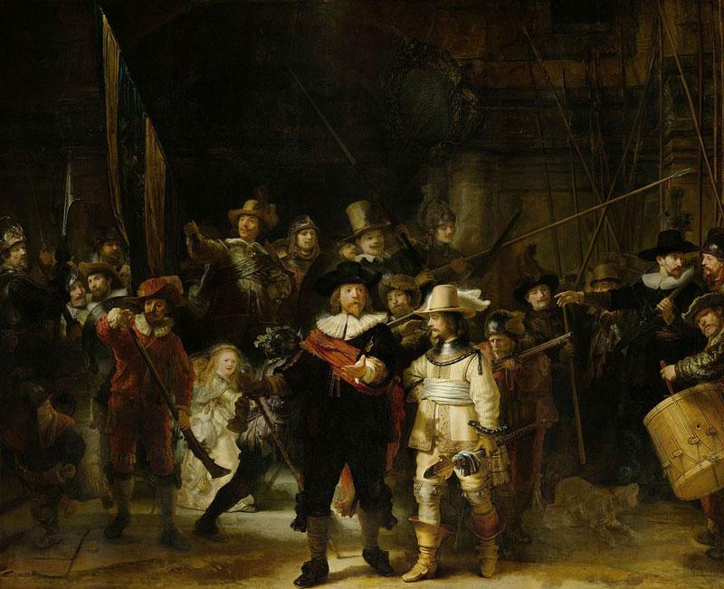 Ronda Noturna de Rembrandt