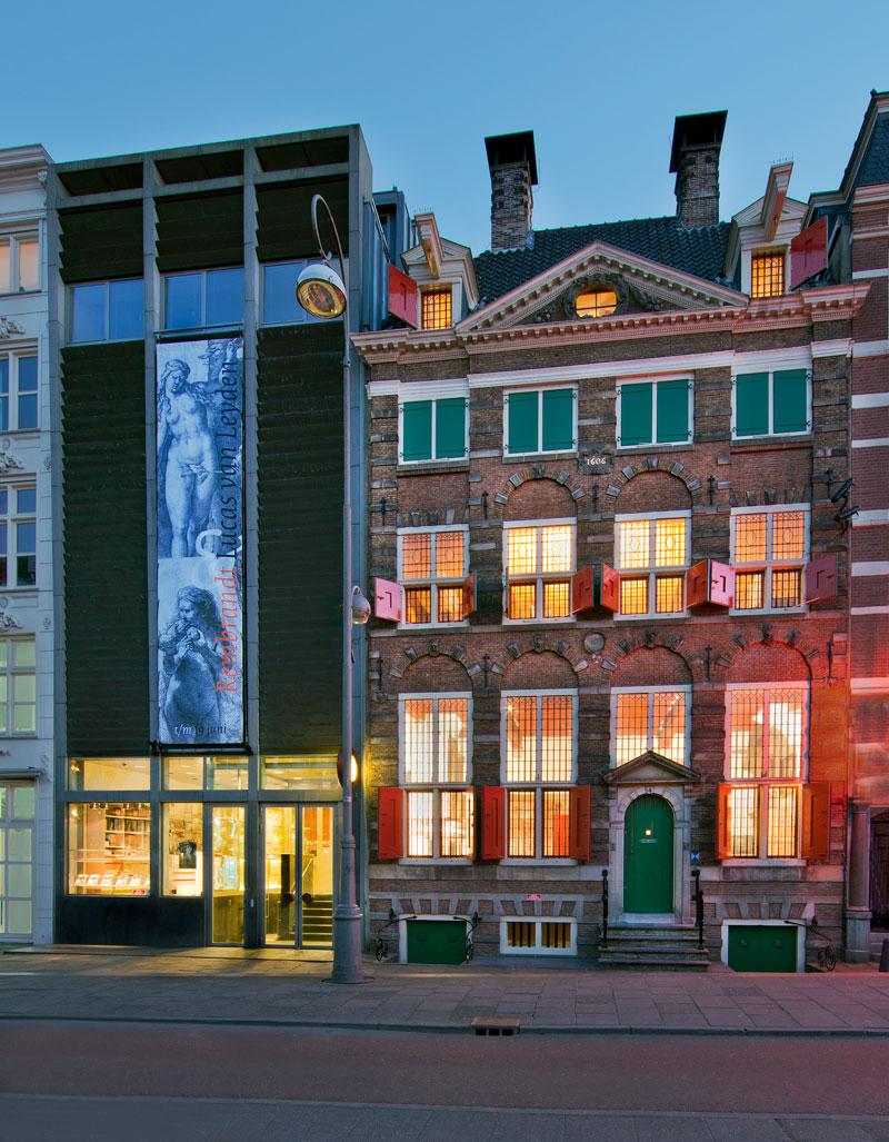 A casa de Rembrandt em Amsterdam