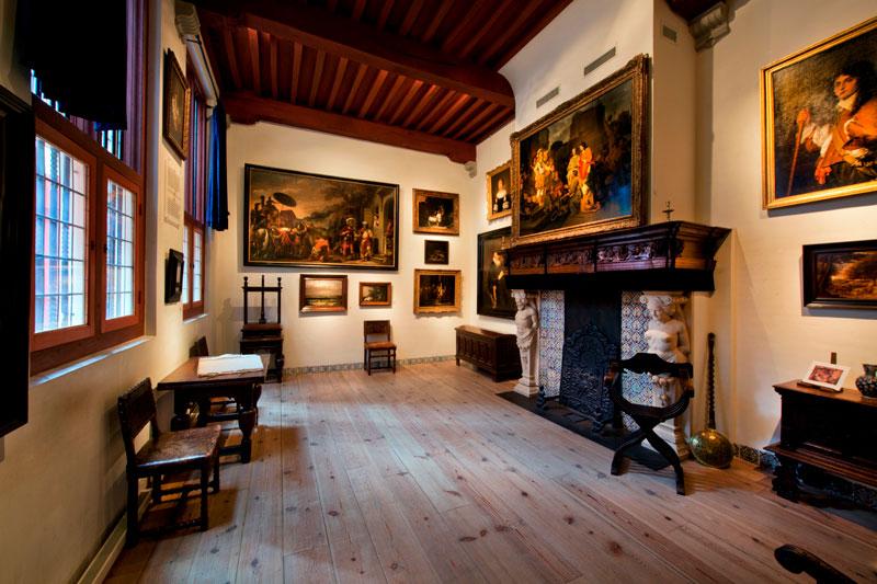 A sala da casa de Rembrandt (