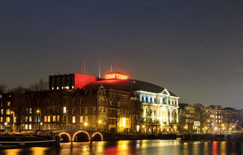 Onde ver shpws em Amsterdam